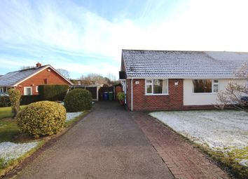 Thumbnail 2 bed semi-detached bungalow for sale in Lakeside Drive, Norton Canes, Cannock