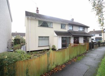Thumbnail 3 bed semi-detached house for sale in Hawarden Green, Cwmbran, Torfaen