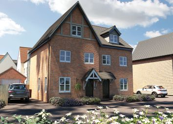 "Thumbnail 3 bedroom town house for sale in ""The Scarsdale"" at Oak Tree Road, Hugglescote, Coalville"