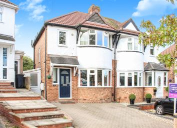 Thumbnail 3 bed semi-detached house for sale in Marsham Road, Birmingham