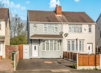 Thumbnail 2 bed semi-detached house for sale in City Road, Tividale, Oldbury