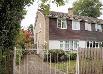 Thumbnail 3 bed semi-detached house for sale in Milton Road, Addlestone
