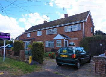 Thumbnail 3 bed semi-detached house for sale in Johnson Road, Clacton-On-Sea
