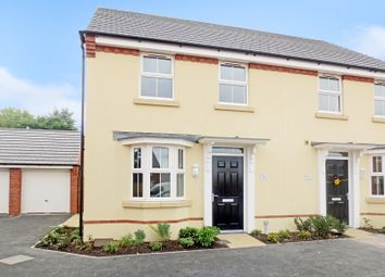 Thumbnail 3 bed semi-detached house to rent in Cossington Square, Westbury