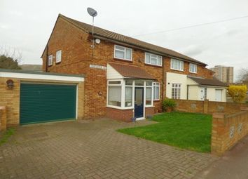 Thumbnail 3 bedroom property to rent in Trefgarne Road, Dagenham