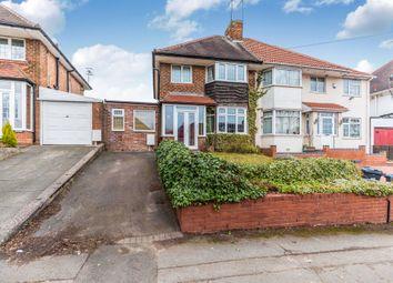 Thumbnail 3 bed semi-detached house for sale in Haunch Lane, Kings Heath, Birmingham