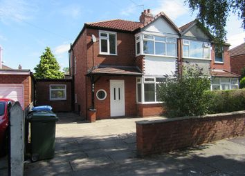 Thumbnail 3 bed semi-detached house for sale in Barton Road, Stretford, Manchester.