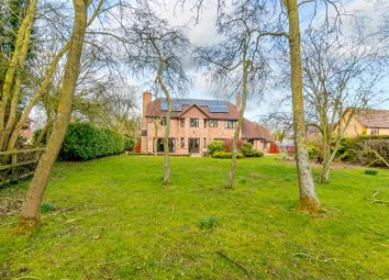 Thumbnail 4 bed detached house for sale in Spaldwick Road, Stow Longa, Huntingdon