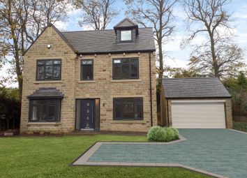 Thumbnail 5 bed detached house for sale in Clough Lane, Brighouse, West Yorkshire