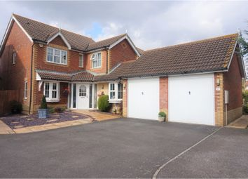 Thumbnail 4 bed detached house for sale in Alec Pemble Close, Ashford