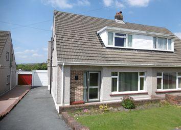 Thumbnail 2 bed semi-detached house for sale in Maeslan, Rhos, Pontardawe, Swansea.