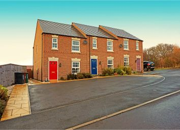 Thumbnail 3 bed town house for sale in St. Martins Close, Church Gresley