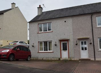 Thumbnail 2 bed end terrace house for sale in Rosebank Crescent, Lockerbie