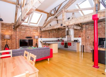 Thumbnail 1 bed flat for sale in King Street, Leicester