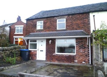 Thumbnail 2 bed semi-detached house to rent in Mow Lane, Gillow Heath, Staffordshire