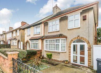 Thumbnail 3 bed semi-detached house for sale in Fullingdale Road, Abington, Northampton