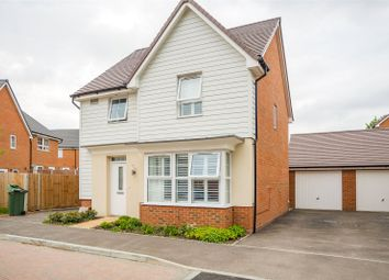 Thumbnail 3 bed detached house for sale in Bunyard Way, Allington, Maidstone, Kent