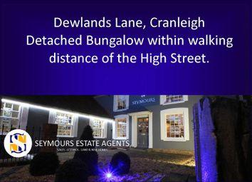 Thumbnail Detached bungalow for sale in Dewlands Lane, Cranleigh
