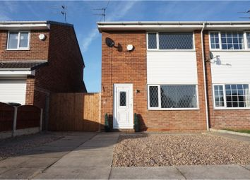 Thumbnail 2 bed semi-detached house for sale in Locking Drive, Doncaster