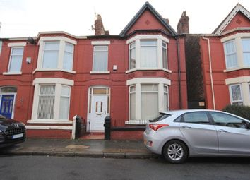 Thumbnail 3 bedroom terraced house for sale in Karslake Road, Mossley Hill, Liverpool
