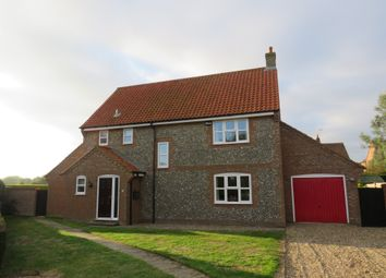 Thumbnail 4 bed detached house for sale in St Marys Lane, Langham, Holt