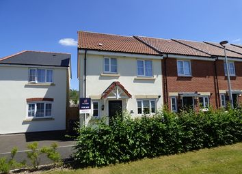 Thumbnail 3 bed end terrace house for sale in Tigers Way, Axminster