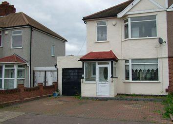 Thumbnail 3 bed terraced house to rent in Rothbury Avenue, Rainham