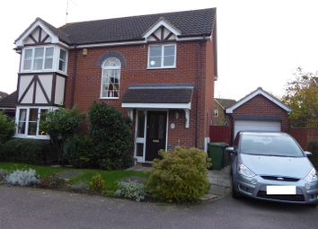 Thumbnail 3 bed detached house for sale in Marconi Drive, Yaxley, Peterborough