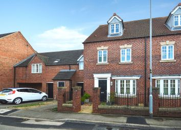 Thumbnail 4 bed town house for sale in Attenborough Close, Wigston, Leicester