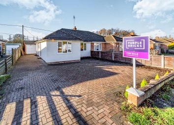 Thumbnail 2 bed semi-detached bungalow for sale in Coleford Bridge Road, Camberley
