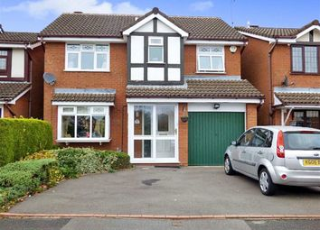 Thumbnail 4 bedroom detached house for sale in Fordham Grove, Pendeford, Wolverhampton