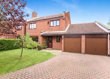 Thumbnail 4 bed detached house for sale in Castle Hill Close, Harrogate