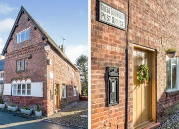 Thumbnail 5 bed semi-detached house for sale in High Street, Great Budworth, Northwich, Cheshire