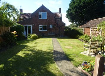 Thumbnail 3 bed detached house for sale in Common Lane, Thorpe Market, Norwich