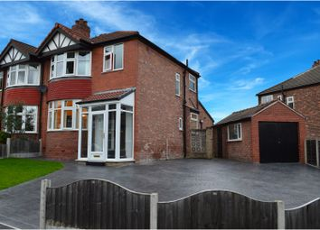 Thumbnail 3 bed semi-detached house for sale in Edgeware Avenue, Manchester