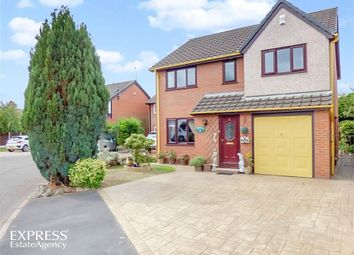 Thumbnail 4 bed detached house for sale in Maplebank, Lea, Preston, Lancashire