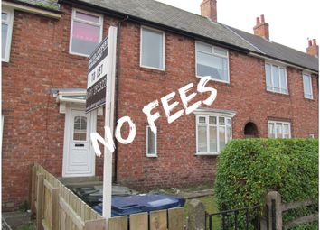Thumbnail 3 bed terraced house to rent in Benson Road, Newcastle Upon Tyne