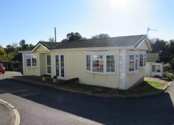 Thumbnail 2 bed mobile/park home for sale in Spire View Park, Gomeldon, Salisbury
