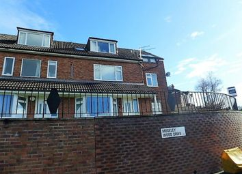 Thumbnail 2 bed flat for sale in Moseley Wood Drive, Cookridge, Leeds