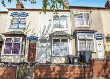 Thumbnail 2 bedroom terraced house for sale in Paddington Road, Handsworth, Birmingham