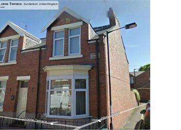Thumbnail 4 bed end terrace house to rent in Lorne Terrace, Ashbrooke, Sunderland, Tyne And Wear