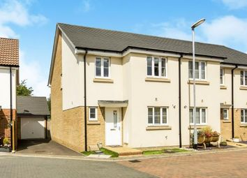 Thumbnail 3 bed end terrace house for sale in Bargroves Avenue, St. Neots, Cambridgeshire