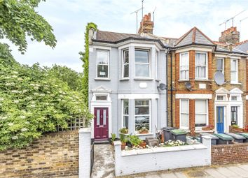 Thumbnail 3 bed end terrace house for sale in Effingham Road, Harringay, London
