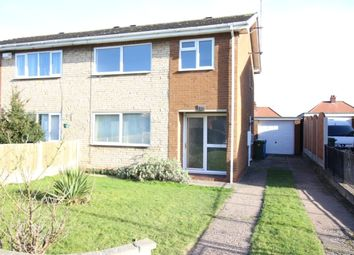 Thumbnail 3 bed semi-detached house for sale in Westmorland Drive, Costhorpe, Worksop