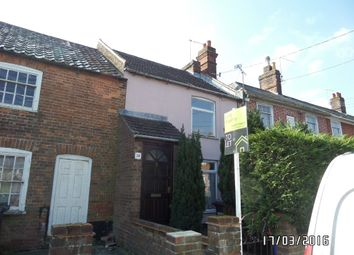 Thumbnail 2 bedroom terraced house to rent in School Cottages, Peddars Lane, Beccles