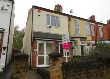 Thumbnail 3 bedroom end terrace house for sale in Clarges Street, Bulwell, Nottingham