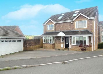 Thumbnail 5 bed detached house for sale in Cedar Wood Drive, Tonyrefail, Porth
