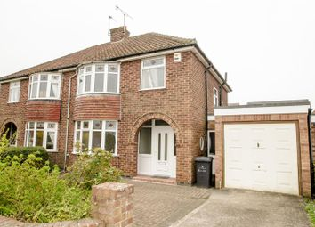 Thumbnail 3 bed semi-detached house to rent in Lycett Road, Dringhouses, York