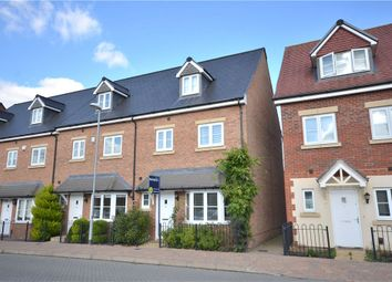Thumbnail 4 bedroom end terrace house for sale in Fulmar Crescent, Bracknell, Berkshire