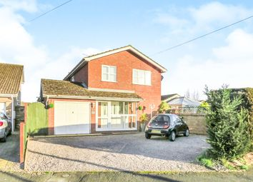 Thumbnail 4 bedroom detached house for sale in Netherfield, Holbeach, Spalding